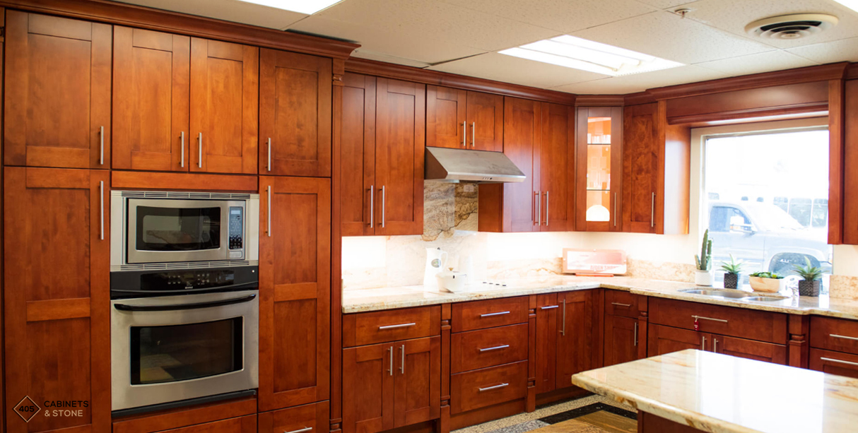 Aiden Aigne Kitchen Inspiration, 405 Cabinets And Stone